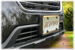 Front License Bracket By C c Carworx To Fit 18 19 Subaru Outback Wagon Ow 18 fp