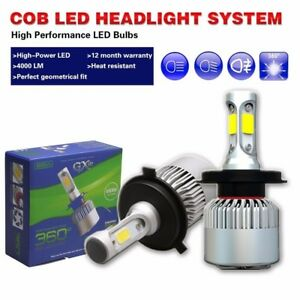 2x Car Led Philips Headlight High Beam Bulbs For 03 05 Infiniti G35 Coupe Sedan