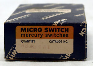 Micro Switch P n As454a1 Mercury Switch New In Box