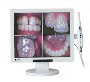 Tpc Dental Products 17 Lcd Multimedia Monitor W Aic5855a Corded Camera Combo