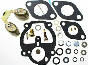 Carburetor Kit Float Fits Allis Chalmers D10 D12 Tracker Tractor 231914 235975 3