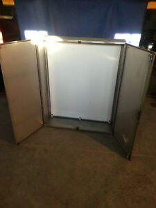Rittal Stainless Steel Electrical Control Cabinet 47 x39 x12