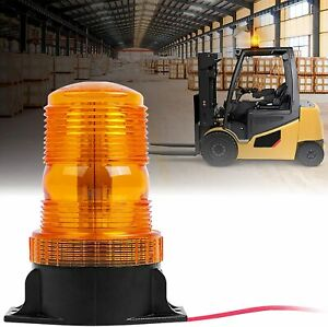 Xprite Amber Forklift Led Security System Emergency Flash Warning Beacon Light
