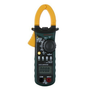 Mastech Ms2108a Auto Range Dc Ac Current Digital Clamp Meter Multimeter Voltage