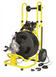 Speedway St 4540 Cable Drum Drain Cleaning Machine W 1 2 X 100 Cable