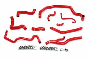 Hps Red Radiator Heater Hose Kit Coolant 07 11 Cooper S R56 1 6l Turbo Automatic