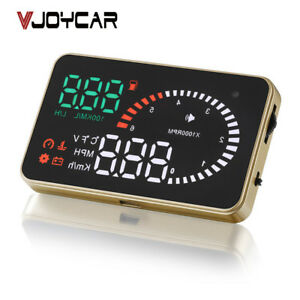 X6 3quot Hud Head Up Display Obd2 Vehicle Speedometer Over Speed Alarm