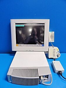 2006 Philips Intellivue Mp90 Patient Monitor W Knob Alarm Device