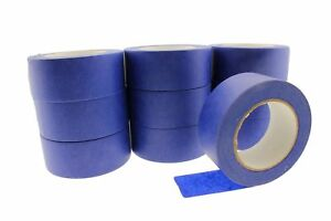 10x 2 Blue Painters Masking Tape Walls Trim Floor Auto Glass Uv Outdoor 21 Day