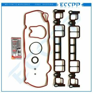 Eccpp Intake Manifold Gasket Set For 96 02 Chevrolet Gmc Cadillac 5 0l 5 7l Ohv