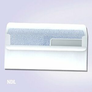 500 Double Window Envelopes Self Seal With Security Tint Inside Compatible With