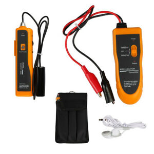 Underground Cable Wire Locator Tracker Wire Tracer Lan With Earphone Bag