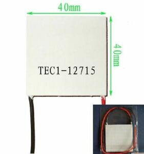 Usa Tec1 12715 Heatsink Thermoelectric Cooler Cooling Peltier Plate Module New