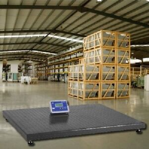 10000 Lbs Industrial Floor Scale 5 X 5 1 Lb Accuracy Free Shipping 60 X 60