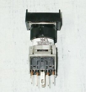 Alcoswitch 164tl Push Button Switches 5a 250vac 1 Lamp