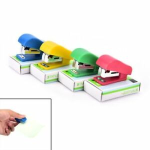 50 Xoffice Student School Home Mini Cartoon Paper Document Stapler With Staples