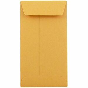 Coin Cash Small Parts 7 Kraft Envelopes 3 1 2 X 6 1 2 24lb 500 box
