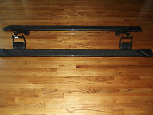 2015 2018 Ford F150 Crew Cab Step Side Bars Oem Running Boards 5 Gray Factory