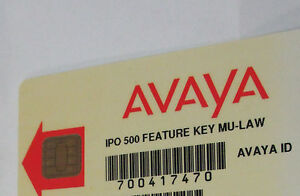 Avaya Ip 500 V1 Feature Card 700417470 Preferred Voice Mail Pro 4 Port Econsole