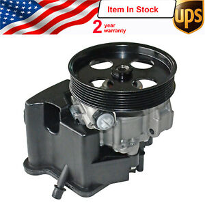 New For Mercedes Power Steering Pump C230 2003 2004 2005 2 Year Warranty