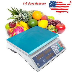 Digital Weight Scale 30kg Price Computing Food Scale Produce Deli Industrial