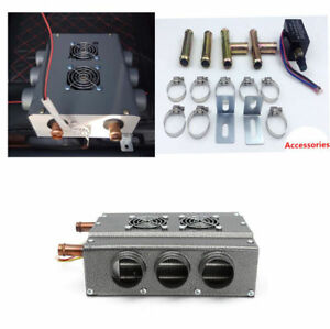 12v 6 Ports Double Side Compact Vehicle Car Heater Heat W speed Switch Universal