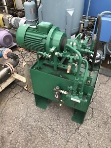 Vickers Pvq10 Hydraulic Power Unit