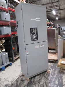 Asco Automatic Transfer Switch W Bypass E962360097xc 600a 480y 277v 60hz Used