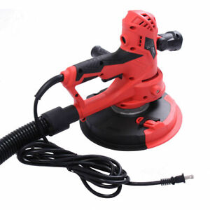 Electric Handheld Drywall Sander 710w Variable Speed With Vacuum