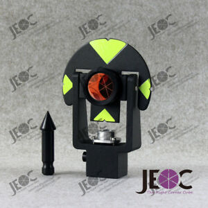New Metal Mini Reflective Prism Set For Leica Total station Replaces Gmp101