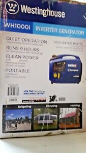 Westinghouse Wh1000i Portable Inverter Generator 1000 Running Watts