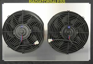 New Radiator Fan Shroud W 12 Fans 1968 1974 Dodge Charger Mopar Cars 26 Core
