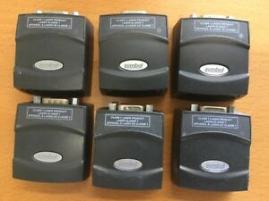 Lot Of 6 Symbol Ms4407 1000r Barcode Scanner Free Shipping
