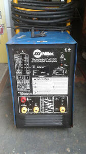 Welding Industrial Machine Miller Thunderbolt 240 Volts Cc Ac dc 225 Amps