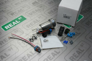 Holley 450lph Efi E85 In Tank Fuel Pump With Install Kit 12 929