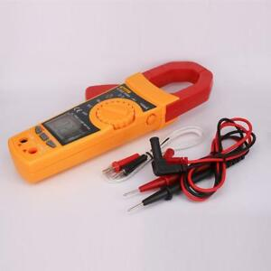 Digital Electronic Clamp Meter Multimeter Current Volt Tester Lead Vc902