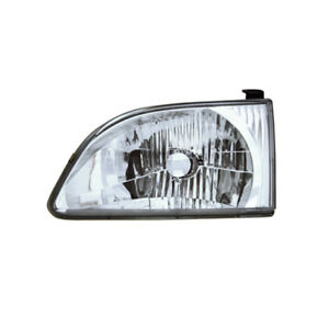 Fits 2001 2003 Toyota Sienna Driver Left Side Headlight Lamp Assembly Lh