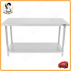 Stainless Steel Restaurant Commercial Work Table Under Shelf 30 x60 16 gauge