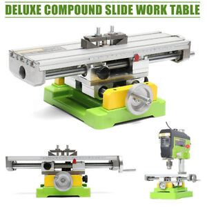 Bg compound Cross Slide Bench Drill Milling Machine Working Table Worktable