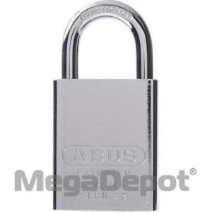 Abus 83606 83 Series Large Format Interchangeable Core Steel Padlock