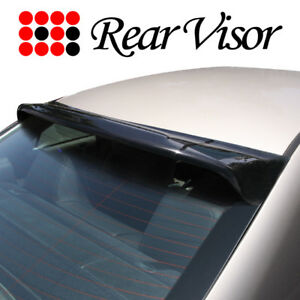 Honda Accord 03 07 Sedan Rear Roof Window Visor Wind Deflector Spoiler Wing