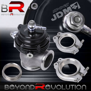 Black 35mm 38mm Compact Turbo Charger Manifold External V band Waste Gate