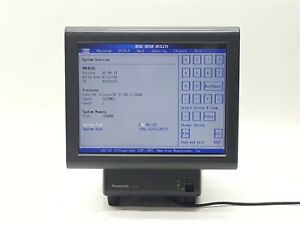 Panasonic Js 950ws 15 Stingray Touchscreen Pos System Terminal Workstation