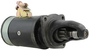New Usa Built Starter W switch For Farmall 6 Volt 1108012 Premium Quality