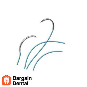 Surgical Specialties Look Silk Black Braided Sutures Non absorbable 774b 5 0 Usp
