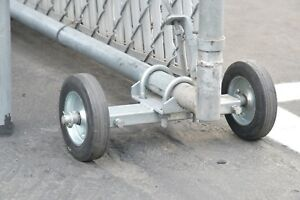 Rolling Gate Wheel Carrier For Chain Link Rolling Gates Xl Heavy Duty Galv