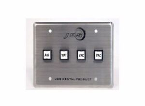 Jds Dental Products Control Panel 4 Buttons Box Air Water vacuum Vacuum cp4