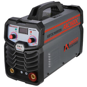 Arc 140 140 Amp Stick Arc Dc Inverter Welder 110v Welding Soldering Machine New