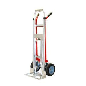 Hand Truck 1000 Lb Capacity 4 In 1 Puncture Proof Tires 2 Wheels Moving Supplies