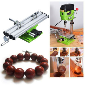 2 Axis Adjustable Work Table Vise For Bench Drill Milling Machine Multi function